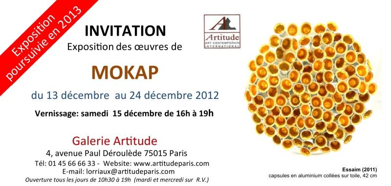 2012 11 25 carton d'invitation MOKAP Artitudes