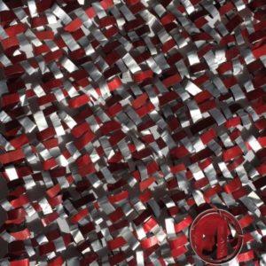 tissage rouge et blanc petit